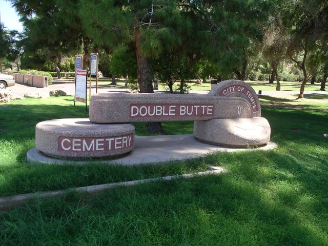 Double Butte Cemetery